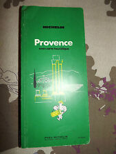 guide vert michelin provence 1971