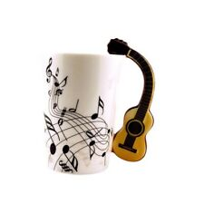 Guitar Music Ceramic china Cup Coffee Milk Tea Mug Cups Mother's Day Lover Gifts