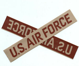 Wholesale 100 x U.S. AIR FORCE Desert Subdued Patch Mil Surplus New Condition