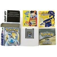 Pokemon Silver Complete In Box CIB Game Boy Color GBC Tested w/manuals authentic
