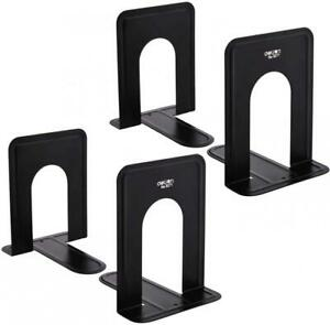Bookend Supports - Business Source - Black (2 Pairs, Small) 2 Small