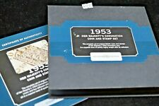 1953 Bradford Exchange Her Majesty's Coronation Coin and Stamp Set