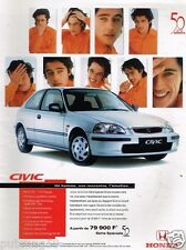 Publicité advertising 1997 Honda Civic avec Werner Schreyer