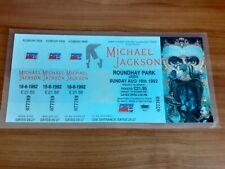 Michael Jackson Dangerous 92 Tour Complete Ticket