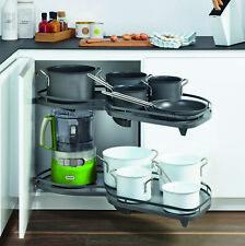 Kessebohmer LeMans II 50 Swings Right Antrachit kitchen corner pull out shelves