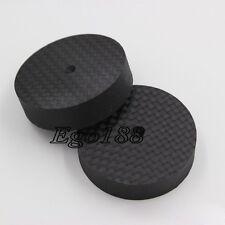 8pcs 40mm 10mm  Brand New Carbon Fiber Speaker Isolator Spike pad stand base