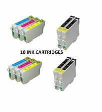 10 Cartucce di inchiostro compatibili per Epson Office B1100 2 Set Completo