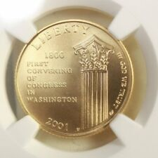 2001 W Capitol $5 Gold NGC MS70 ***Rev Tye's Stache*** #0006700