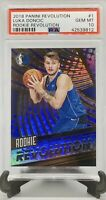 PSA 10 RC Luka Doncic 2018-19 Panini Revolution Rookie Revolution #1 Holo SP QTY