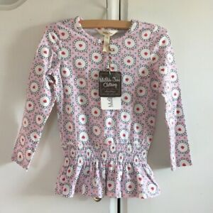 Matilda Jane Clothing Girl's Heartfelt Strawberry Tunic - Size 4 NWT!