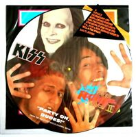 """NM/EX KISS GOD GAVE ROCK N ROLL TO YOU 12"""" VINYL PICTURE PIC DISC"""