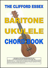 BARITONE UKULELE CHORD BOOKLET. COMPREHENSIVE, THOROUGH & EASY TO UNDERSTAND.