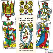 CBD TAROT DE MARSEILLE CARDS DECK DR YOAV BEN DOV ESOTERIC TELLING ASTROLOGY NEW