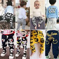Toddler Kids Harem Long Pants Elastic Sport Bottom Baby Boy Girl Trousers Slacks