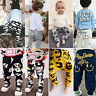 Kids Baby Boys Girls Harem Pants Trousers Infant PP Bottom Casual Sweatpants