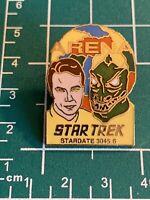 """STAR TREK """"Arena"""" Episode (1990) Cloisonne Pin-back pin."""