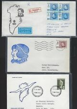 Greenland 1970's Collection Of Six Covers Including Fdcs Registered & Special