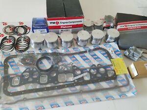 Engine Kit - fits Datsun 240Z, 260Z Pistons & Rings Gaskets Bearings Timing,Gskt