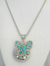 Essential Oil Diffuser Necklace Diffuser Jewelry Aromatherapy Locket Butterfly