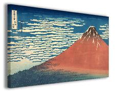 Quadro moderno Katsushika Hokusai vol XIII stampa su tela canvas arredo poster