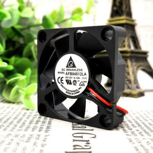 1pc DELTA AFB04512LA 12V 0.15A 4510 4.5CM 2-wire Ball  Cooling Fan