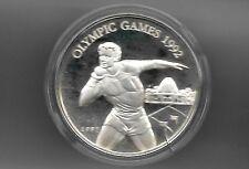 Samoa 1991 10 tala silver proof coin KM# 82