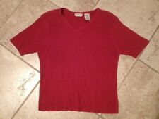 """White Stag Woman Red 22/24W RN 52469 41"""" chest"""