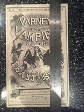 Penny Dreadful Original Varney Vampire Prop with LOA