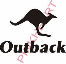 Outback Decal RV sticker decals trailer camper rv kangaroo keystone roo
