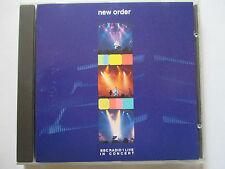 New Order – BBC Radio 1 Live In Concert – WIN CD 011 - Orig 1992 UK CD - MINT!!