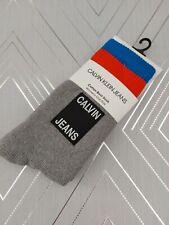 Calvin Klein Vintage Logo Cotton Cushion Boot Socks BNWT One Size BNWT