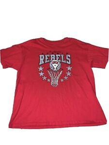 Vintage UNLV Running Rebels Red Short Sleeve T Shirt Men Sz XXL NWOT