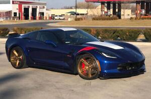 "19"" 20"" Verde VFF03 Wheels fits Chevrolet Corvette C6 C7 ZR1 Z06 Grand Sport"