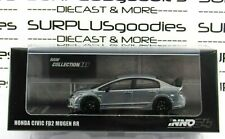 INNO64 1:64 Scale 2019 Raw Collection HONDA CIVIC FD2 Mugen RR RAW Version