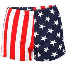 NEW Girls LADIES/WOMENS AMERICAN USA FLAG STARS & STRIPES LEGGINGS and PANTS