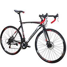 XC550 Road Bike 700C Wheels 21 Speed Road Bicycle Dual Disc Brake 54cm Bicycle