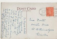 Miss Footit, Hainton House, St. Catherines Grove, Lincoln 1946 Postcard, B410