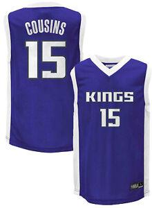 Outerstuff NBA Youth 4-18 Sacramento Kings Demarcus Cousins #15 Jersey