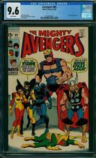 Avengers #68 CGC 9.6 -- 1969 -- Ultron-6 app.  A+ centering  #2024404003