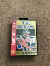 Tecmo Super Bowl (Sega Genesis, 1993) Sega Great Price Complete Collectible