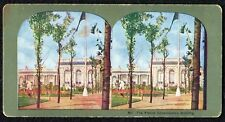 Antique Stereo-View Card, #351 The French Government's Building