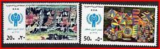 SAUDI ARABIA 1980 Year of the Child SC#786-87 MNH CV$31.50  PAINTINGS, UNO D1
