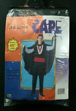 Disguise Dracula Vampire Cape With Stand-Up Collar One Size Fits All