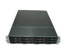 Supermicro 2U X8DT3 2x E5620 2.4ghz 8-Cores | Select Your RAM | 12x Trays