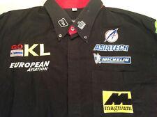 formula 1 -  MINARDI / EUROPEAN AVIATION Mechanics Team Shirt (XL)