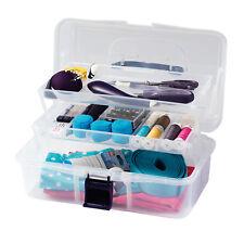 Prym Sewing Box Transparent Sewing Case Sewing Box Sewing Basket Storage 612725
