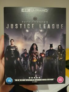Zack Snyder's Justice League (Blu-ray 4K UHD) BRAND NEW!! Snyder Cut