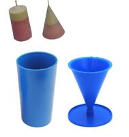 Set of 4 Candle Moulds 1 x Tray 1 x Pillar 1 x Sphere S7553 1 x Pyramid