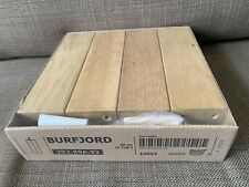 "IKEA BURFJORD Oak Wood Legs 7.75 In"" (Set of 4)202.996.93"