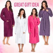 ** Womens Luxury Towelling Bath Robe Mothers Day Gift Present Mother Mum Mom Her